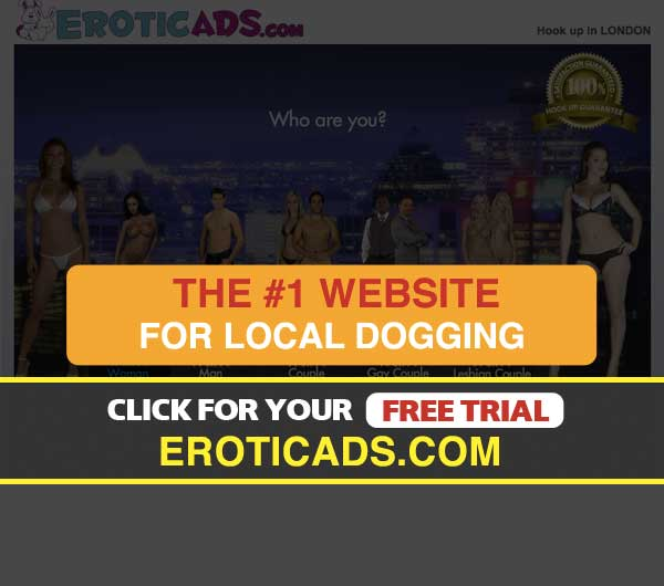 Screenshot of EroticAds Homepage